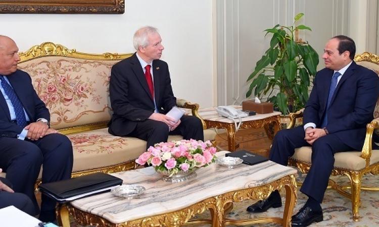 السيسى يشيد بتفهم كندا للتطورات التى شهدتها مصر