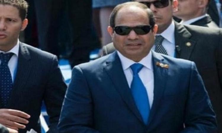 """الرئيس يفتتح المرحلتين الأولى والثانية من مشروع """"الأسمرات"""" بالمقطم"""