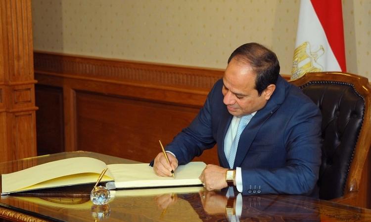 السيسى يصدر قانوناً لتغليظ عقوبة جرائم النقد والصرف
