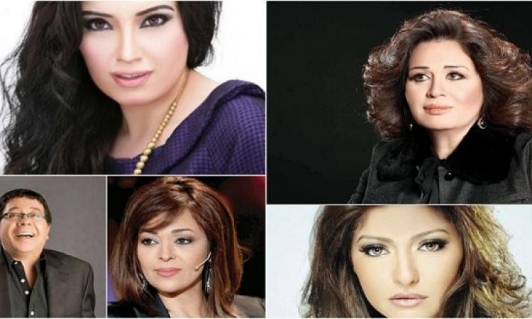 بالفيديو .. المعارضة السورية تصدر مذكرة اعتقال 5 فنانين مصريين !!
