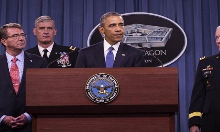 أوباما يجتمع مع مستشاريه للأمن القومى لبحث خطط محاربة داعش