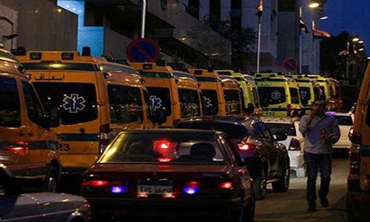 استشهاد 8 شرطيين فى حلوان برصاص مسلحين مجهولين