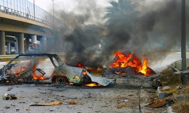 مقتل العشرات من قوات سوريا الديمقراطية بسيارة مفخخة فى الرقة