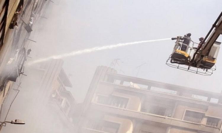 ارتفاع ضحايا حريق العتبة لـ 3 وفيات و 91 مصابا