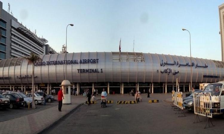 مطار القاهرة يستقبل شحنة ذهب خام من منجم السكرى لنقلها إلى كندا