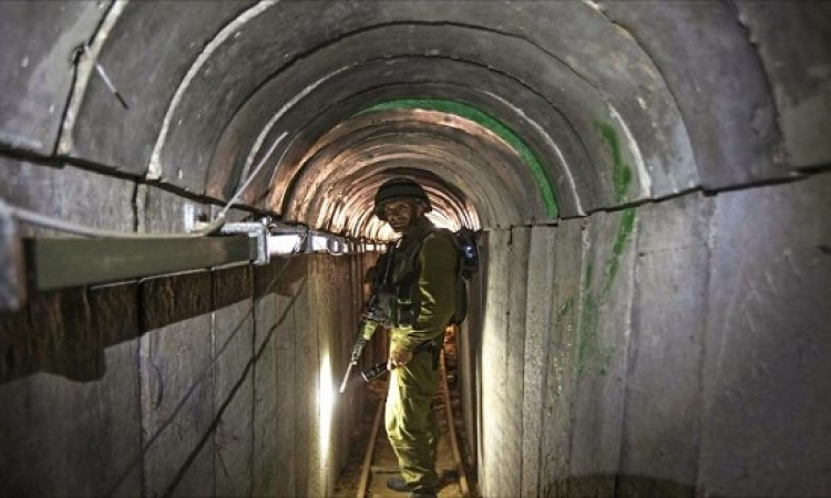 إسرائيل تتلافى مشكلة الأنفاق ببناء جدار دفاعى تحت الأرض حول غزة