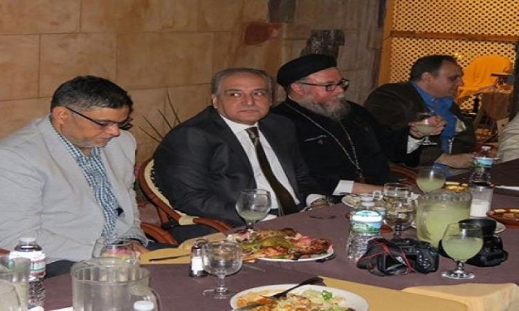 بالصور.. الجالية المصرية بنيويورك ونيوجيرسى تنظم حفل إفطار الوحدة الوطنية