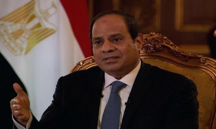 السيسى: دماء أبناءنا فى سيناء لن تزيدنا إلا إصرارا فى معركة البناء والبقاء