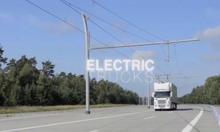 السويد تفتح أول طريق كهربائى للشاحنات فى العالم