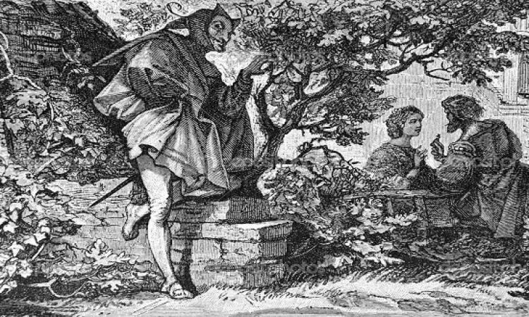 قصة الأسطورة المقتبس منها ونوس : الفخرانى مفستوفيليس