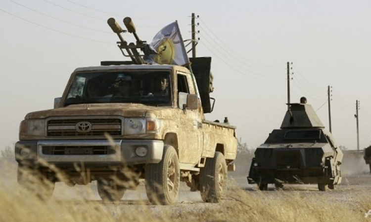 قوات سوريا الديمقراطية تطبق الحصار على مدينة الطبقة