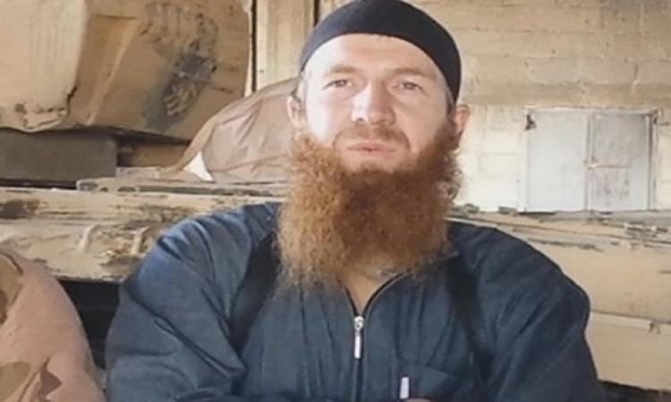 داعش يعترف بمقتل القائد العسكرى أبو عمر الشيشانى بالعراق