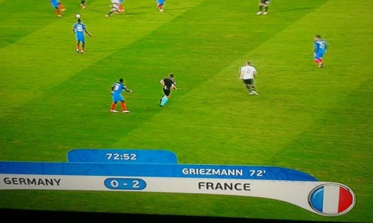 فرنسا تفوز على الماكينات الألمانية بهدفين نظيفين وتصعد لنهائى اليورو