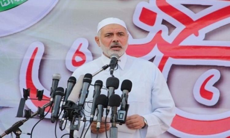 هنية : حماس ليست متعجلة للتفاوض حول صفقة تبادل للأسرى مع اسرائيل