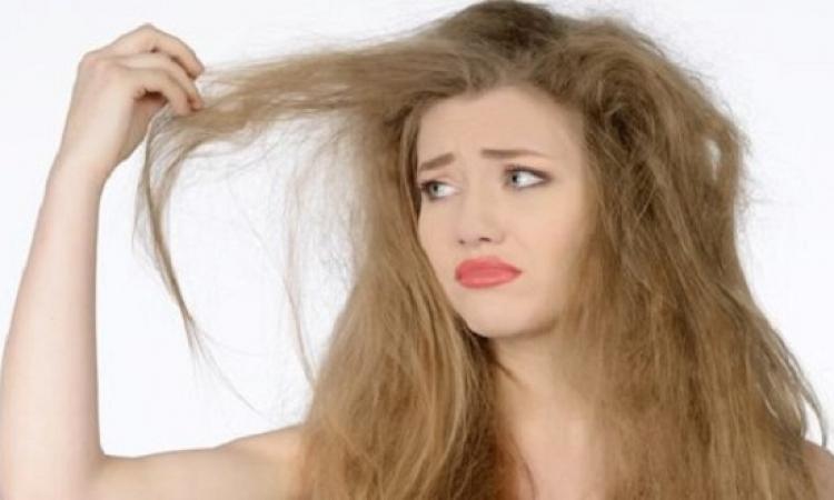 خلطة طبيعية للتخلص من الشعر التالف والمتقصف