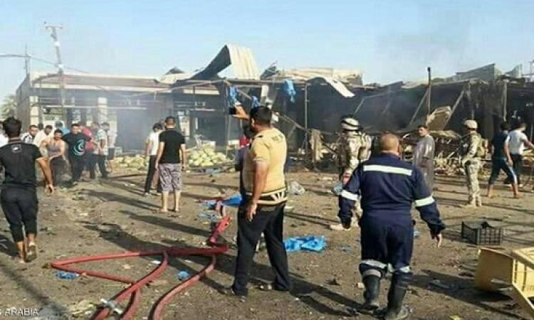 11 قتيلاً و30 جريحاً بانفجار سيارة ملغومة شمال بغداد