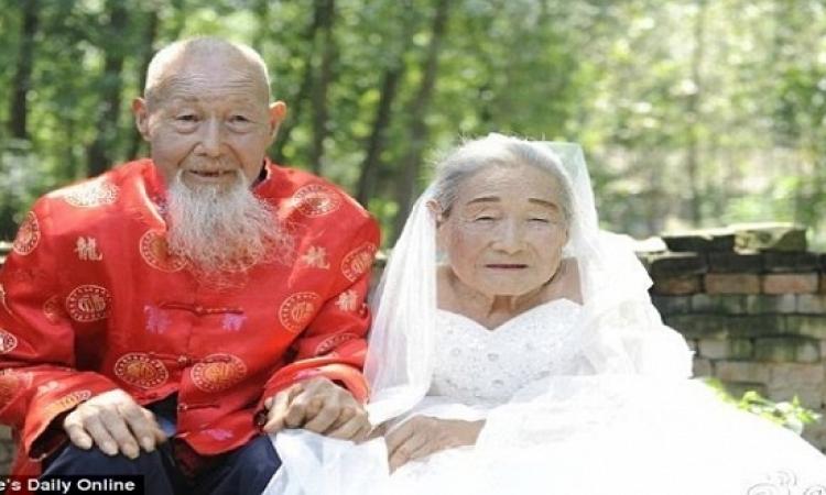 بالصور.. بعد 80 عامًا من الزواج.. زوجان يحققان حلم حياتهما !!