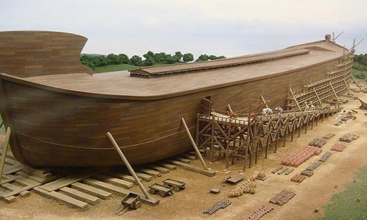 بالصور .. أمريكا تعيد بناء سفينة نوح .. وبحيوانتها كمان !!