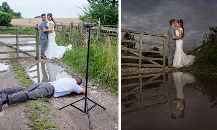صور الزفاف : الحقيقة والمجهود .. يا كادراتك يا استاذ !!