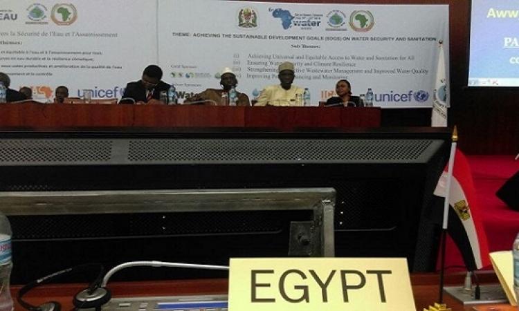 مصر تفوز بمنصب نائب رئيس المجلس الوزارى للمياه عن شمال أفريقيا