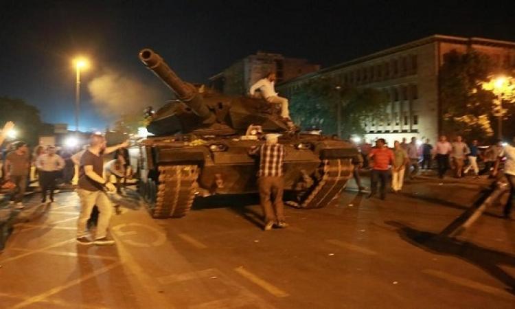 التسلسل الزمنى لمحاولة الانقلاب العسكرى فى تركيا