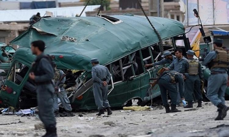 عشرات القتلى والمصابين بهجوم انتحارى فى كابول