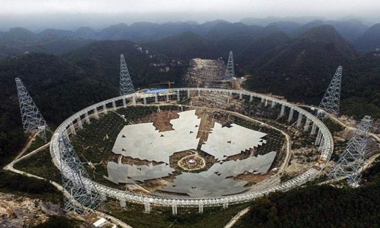 الصين تنشأ اكبر تليسكوب ضخم للبحث عن الكائنات الفضائية