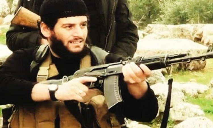 داعش يعترف بمقتل الرجل الثانى فى التنظيم أبو محمد العدنانى بشمال سوريا