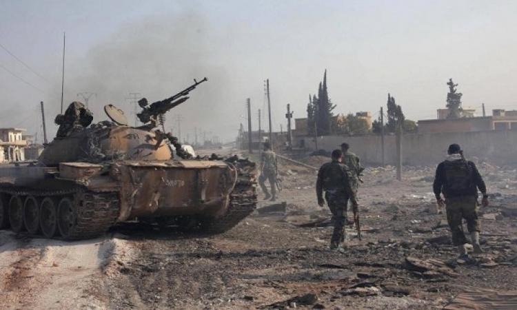 القوات السورية تشن هجوماً برياً واسعاً فى حلب