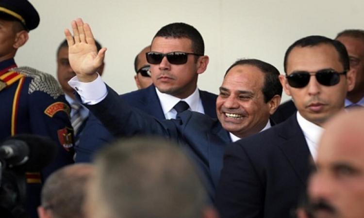 الرئيس السيسى يتفقد أعمال إنشاء أنفاق قناة السويس بالإسماعيلية