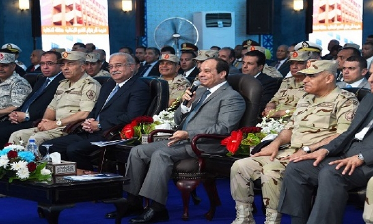 الرئيس السيسى يشهد افتتاح أكبر مجمع للبتروكيماويات بالإسكندرية