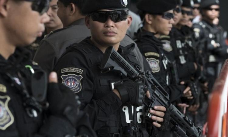 اعتقال شخصين على خلفية التفجيرات بتايلاند