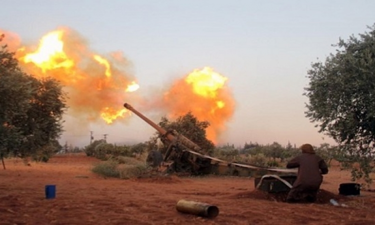 احتدام المعارك فى حلب بعد رفض المعارضة وقف القتال
