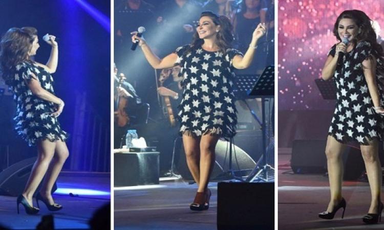 بالصور .. إليسا ترقص وتتألق فى مهرجان أعياد بيروت