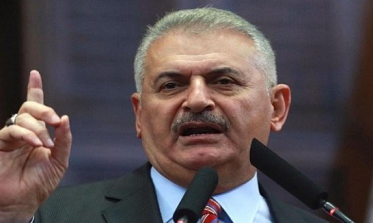 رئيس وزراء تركيا يؤكد تطلع بلاده لتحسين العلاقات مع مصر