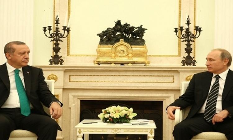 """بوتين: نسعى إلى تطوير العلاقات مع """"صديقتنا"""" تركيا"""