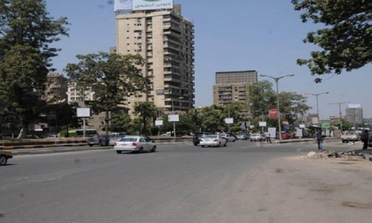 إغلاق جزئى لشارع جامعة الدول العربية