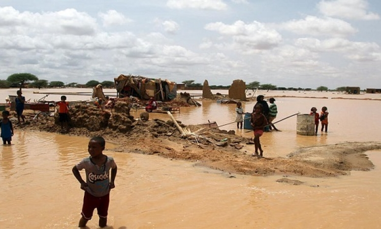 مصرع 100 شخص فى فيضانات مدمرة بأرجاء السودان