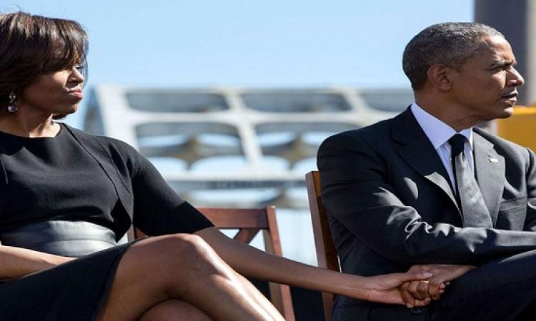 بالصور .. قصة حب العاشقان .. باراك وميشيل اوباما !!