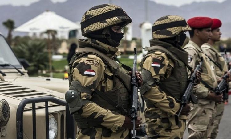 مقتل 5 مسلحين بهجمات متزامنة على حواجز أمنية فى سيناء