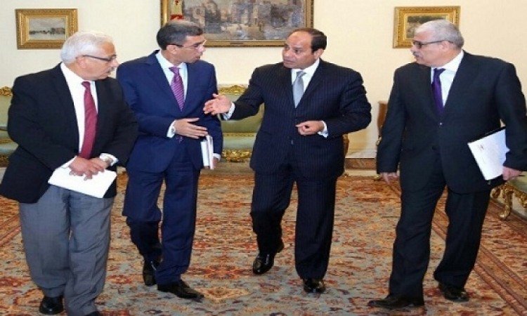 السيسى : ليست لدينا قوات برية فى أى دولة عربية