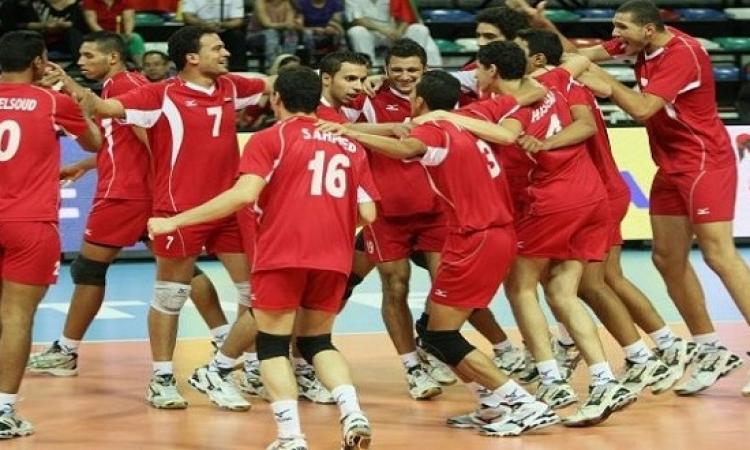منتخب الطائرة يفوز على كوبا 3 / 0 فى اوليمبياد ريو
