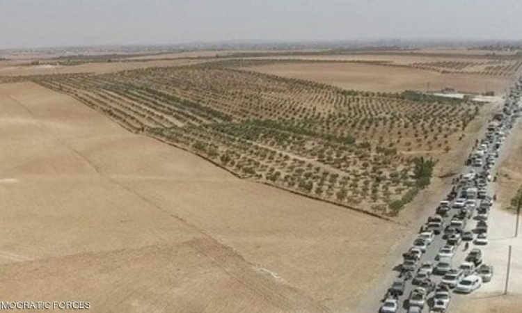 الأمريكيون يبررون عدم قصف مواكب داعش خارج منبج