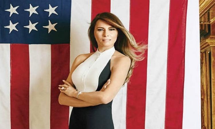 نيويورك بوست تنشر صور عارية لزوجة ترامب .. وهو : مفيش مشكلة !!