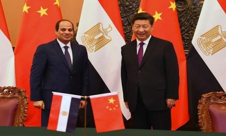 الرئيس السيسى يصل الصين للمشاركة فى قمة مجموعة الـ 20