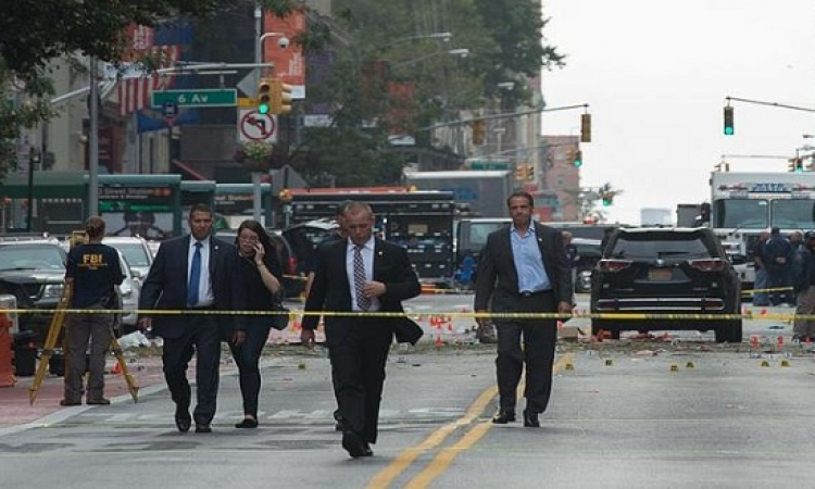 بالفيديو .. لحظة وقوع انفجار مانهاتن وهروب الناس بعيدًا عنه