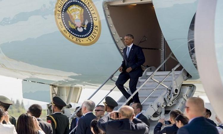 """استقبال """"مهين"""" لأوباما فى الصين : التعمد واضح !!"""