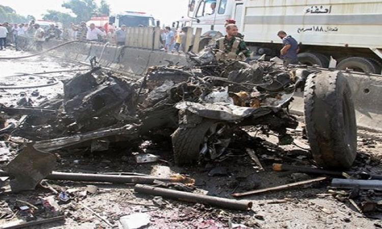 50 قتيلاً فى سلسلة تفجيرات بمناطق خاضعة للنظام السورى