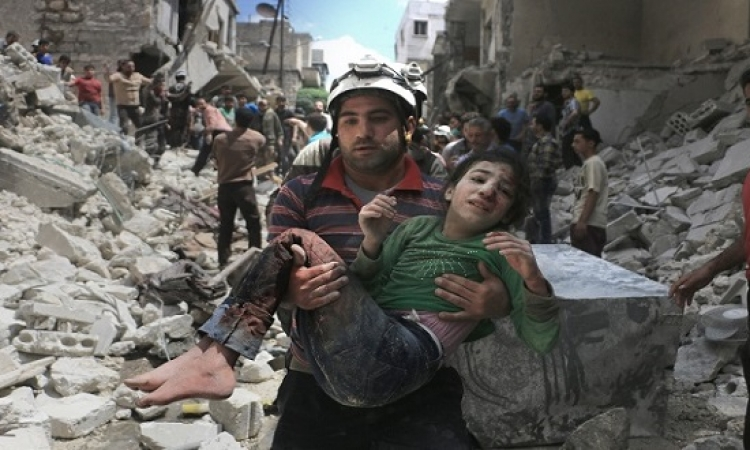 ارتفاع ضحايا غارات الغوطة الشرقية إلى نحو 100 قتيل