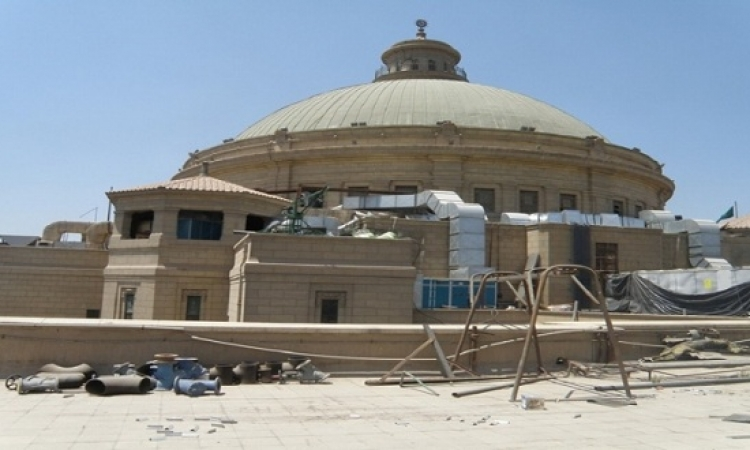 """بيان عاجل بشأن تشوية """"قبة جامعة القاهرة"""""""